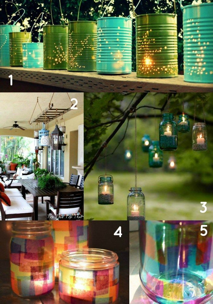 10 chic diy outdoor lighting ideas for your backyard mozeypictures Images