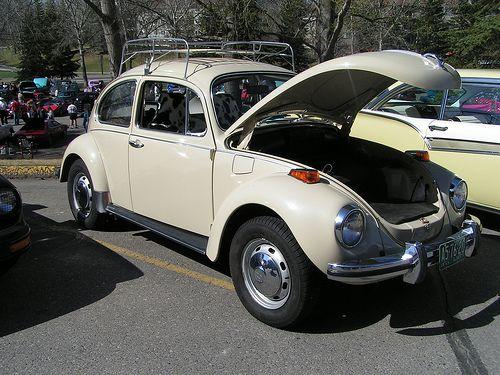 1971 Super Beetle With Luggage Rack Volkswagen Volkswagen Beetle Beetle