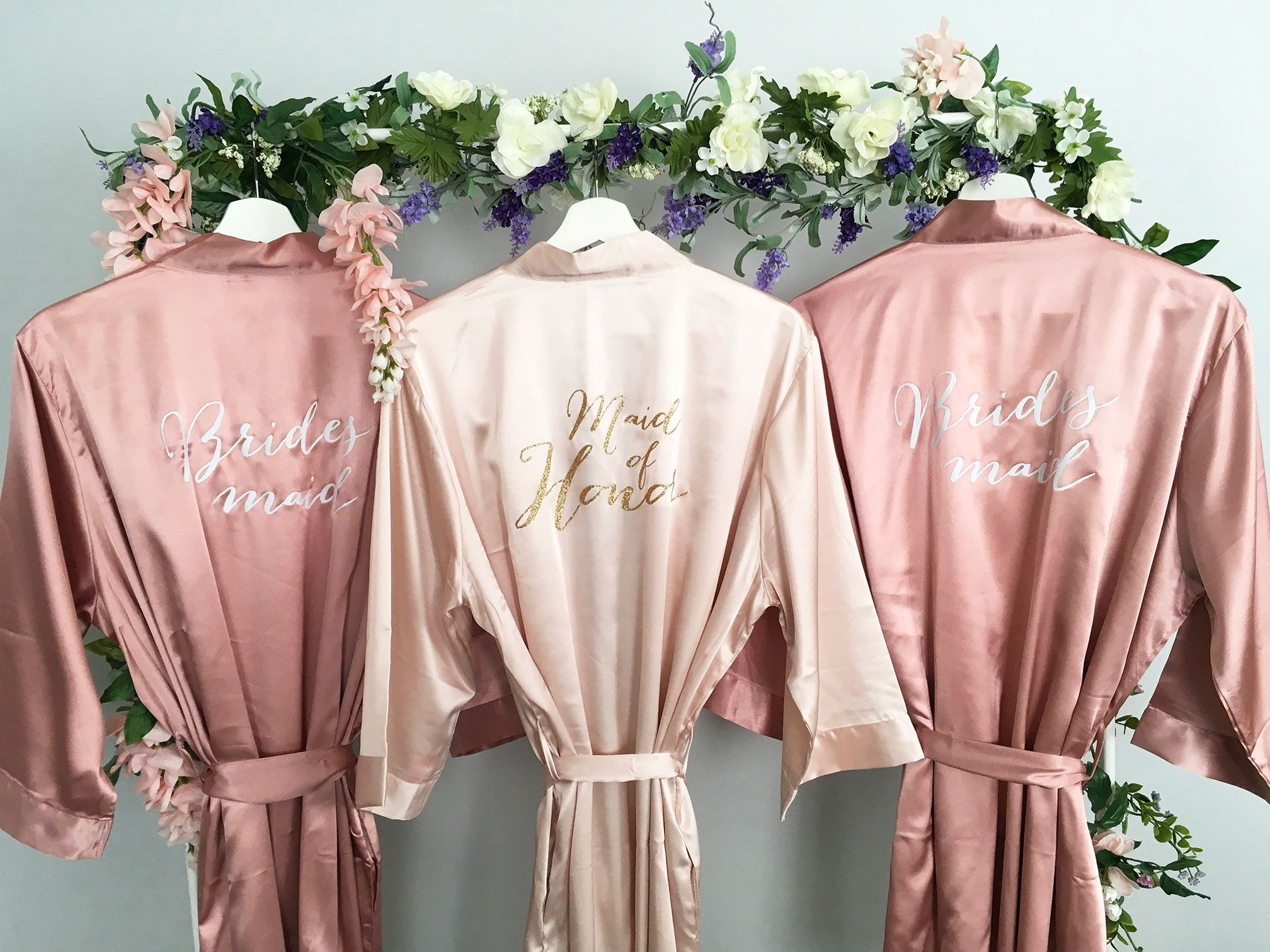 Bridesmaid robes 4f016834e