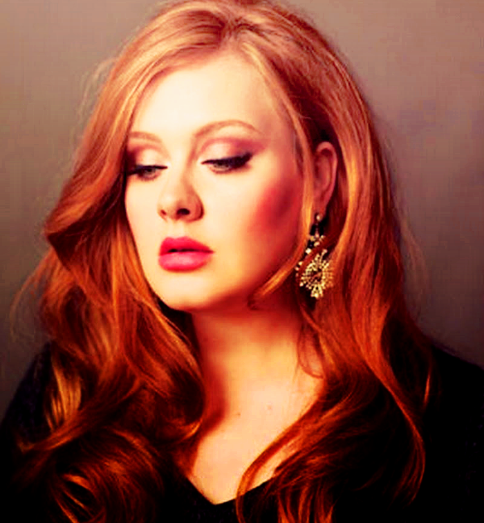 Teal Cheesecake Adele Hair Celebrity Hairstyles Hair Inspiration