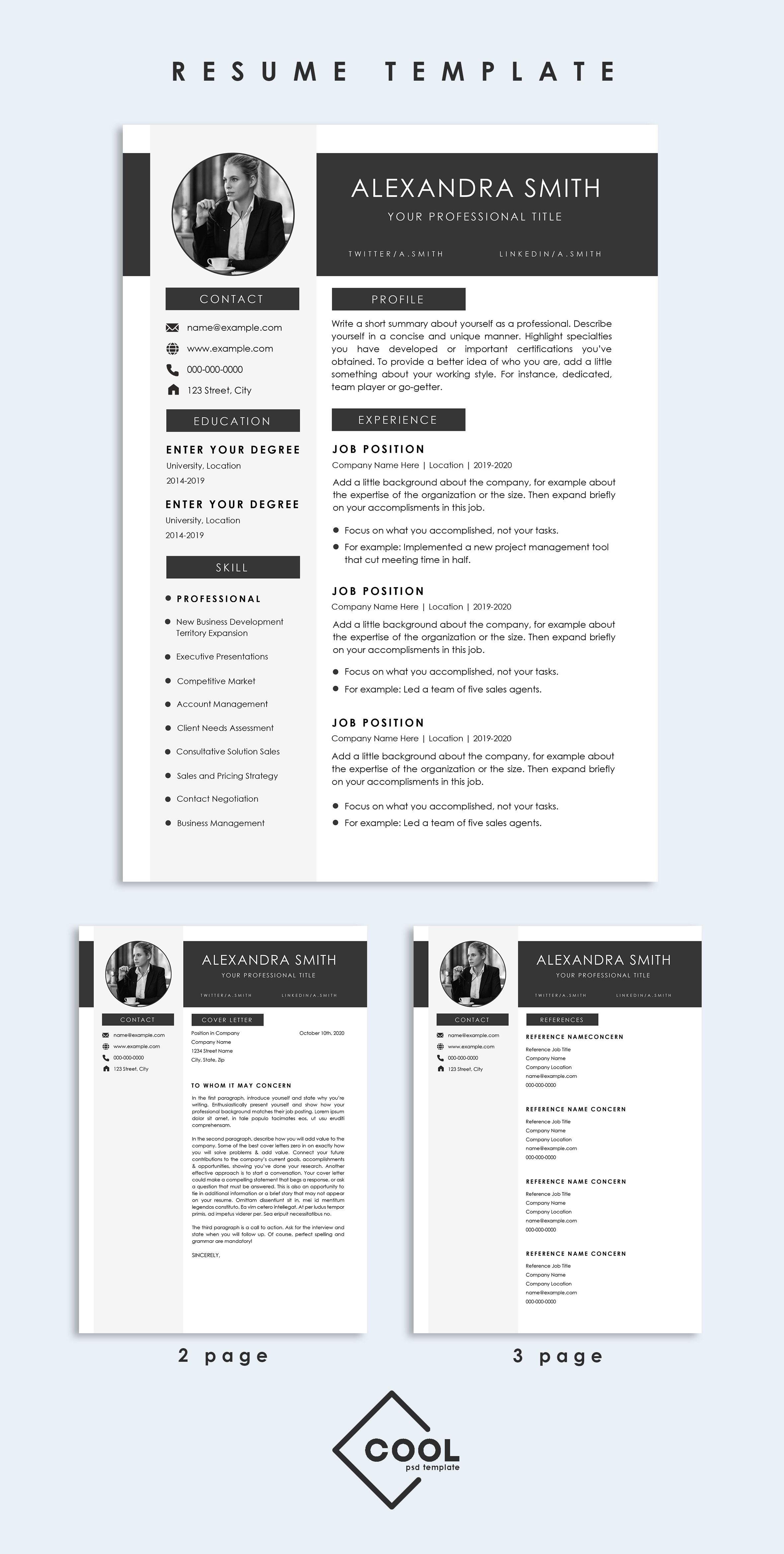 Microsoft Word Reference Template from i.pinimg.com
