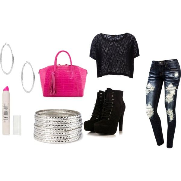 """""""school outfit"""" by jkalahfurlow on Polyvore"""