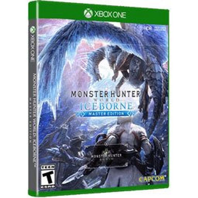 Monster Hunter World Iceborne Master Edition Xbox One Gamestop In 2020 Monster Hunter Monster Hunter World Xbox One