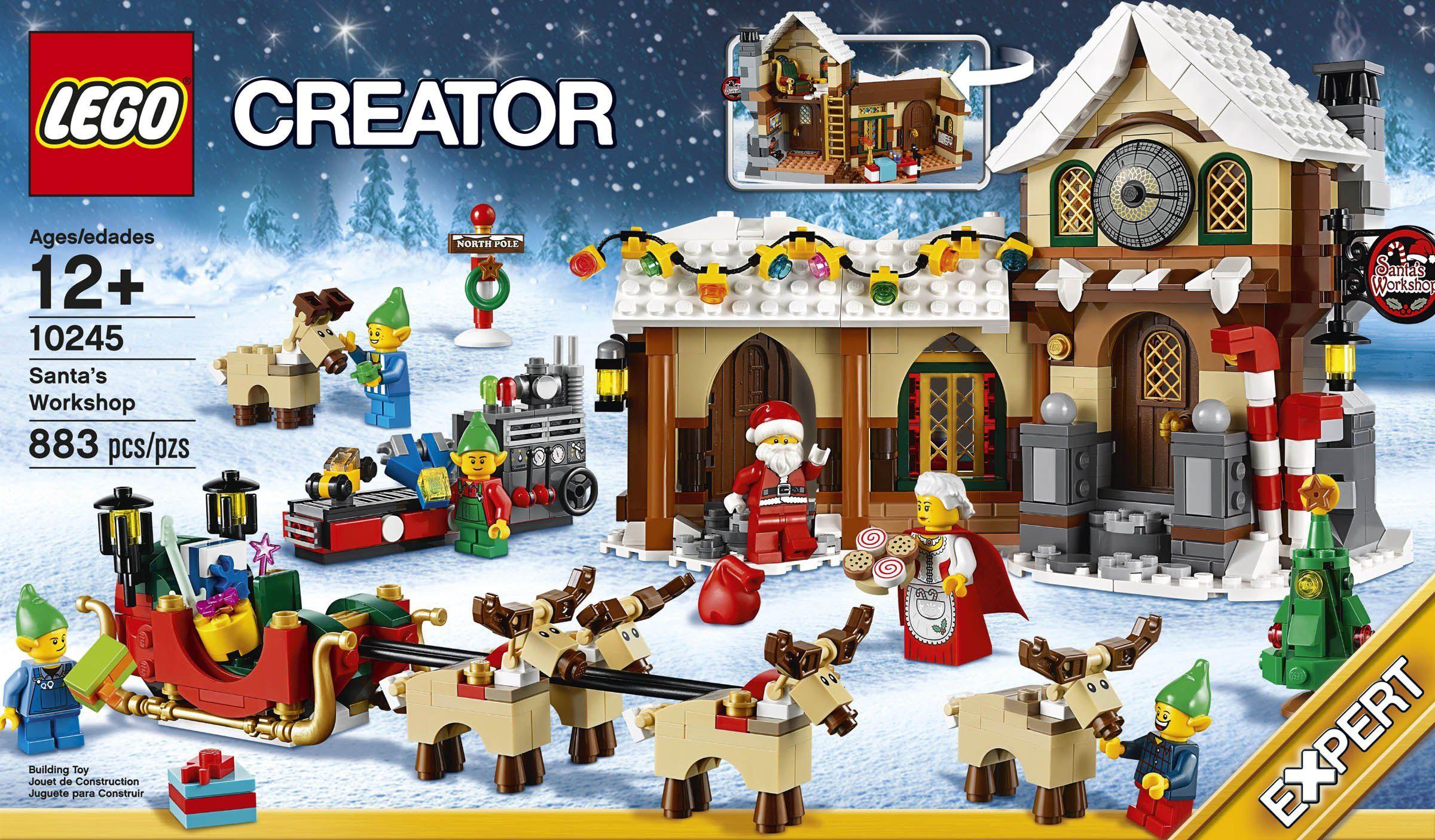 CrècheLe Alternative À La Village NoëlAidan Lego De sQrdxthC
