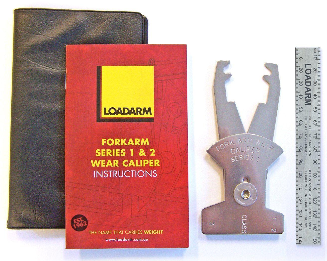 Fork Arm Wear Caliper Series 2 Calipers Arm Wear Bottle Opener Wall