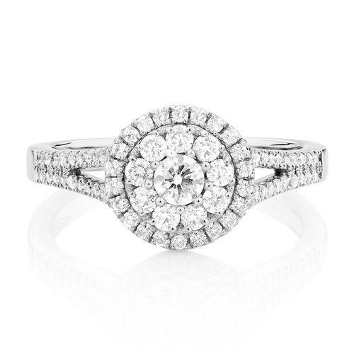 0.76 Carat TW Diamond Ring