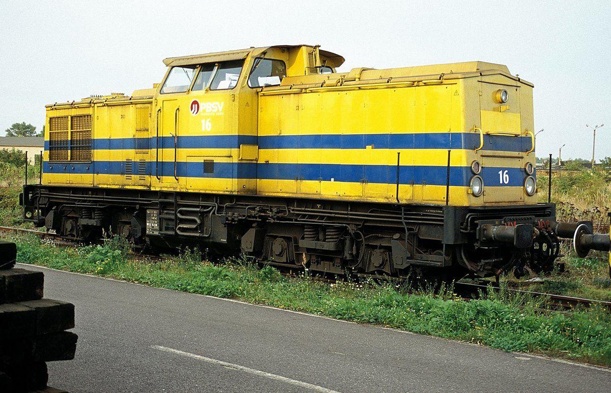 PBSV 16 (mit Bildern) Eisenbahn, Lokomotive, Verkehrsmittel