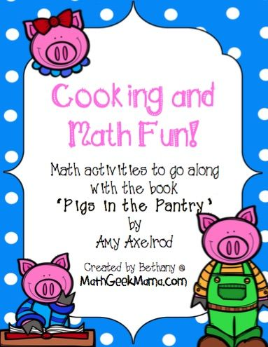 Math and Cooking Fun | Maths, Math activities and Activities