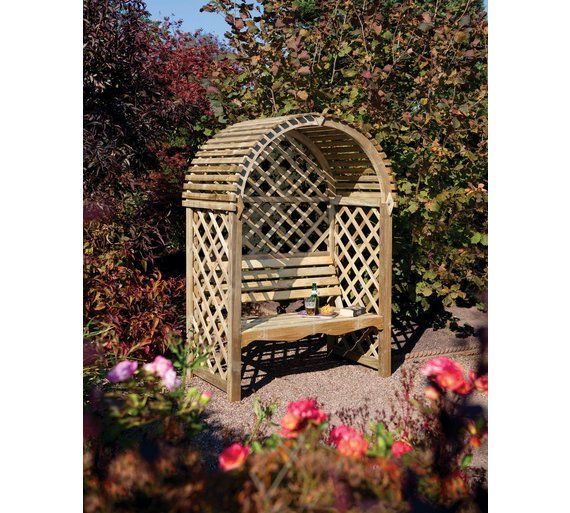 199 99 Buy Victoria Arbour At Argos Co Uk Visit Argos Co Uk To Shop Online For Garden Benches And Arbours Garden Fu Garden Arbor Garden Arches Wooden Garden