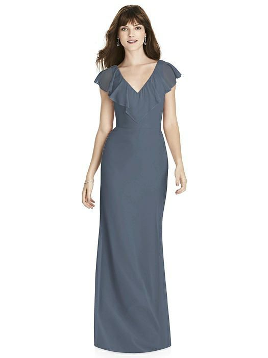 bfee5c449d After Six Bridesmaids Style 6779 in Silverstone. Dessy Group Bridesmaids