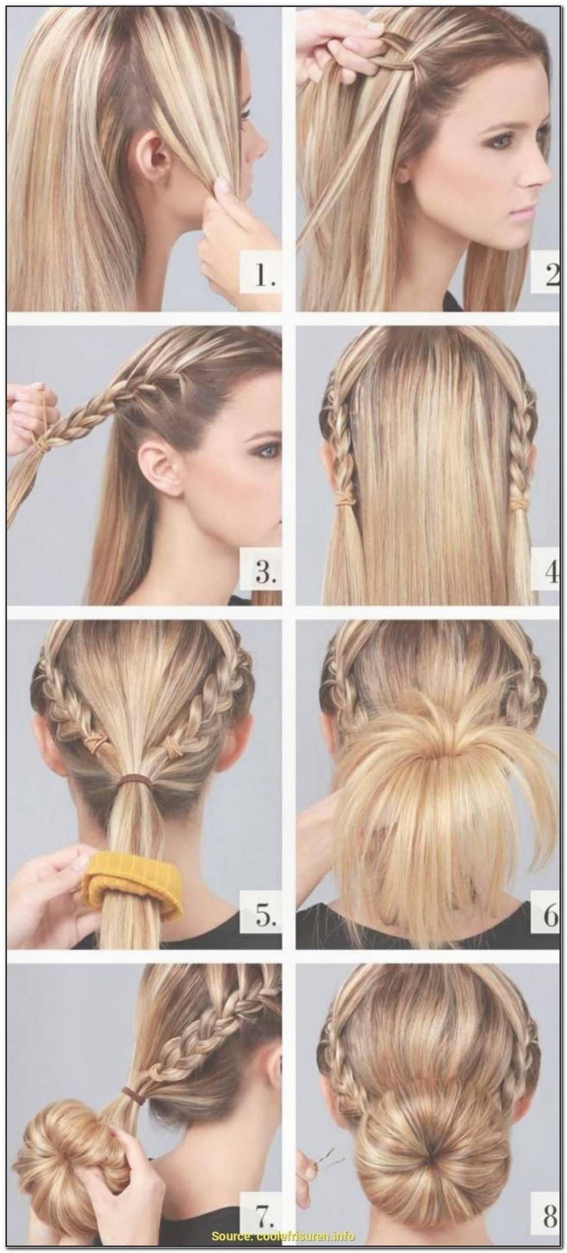 Einfache Frisuren FüR Glatte Lange Haare in 11  Hair bun