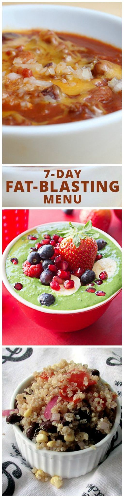 7-Day Fat-Blasting Menu