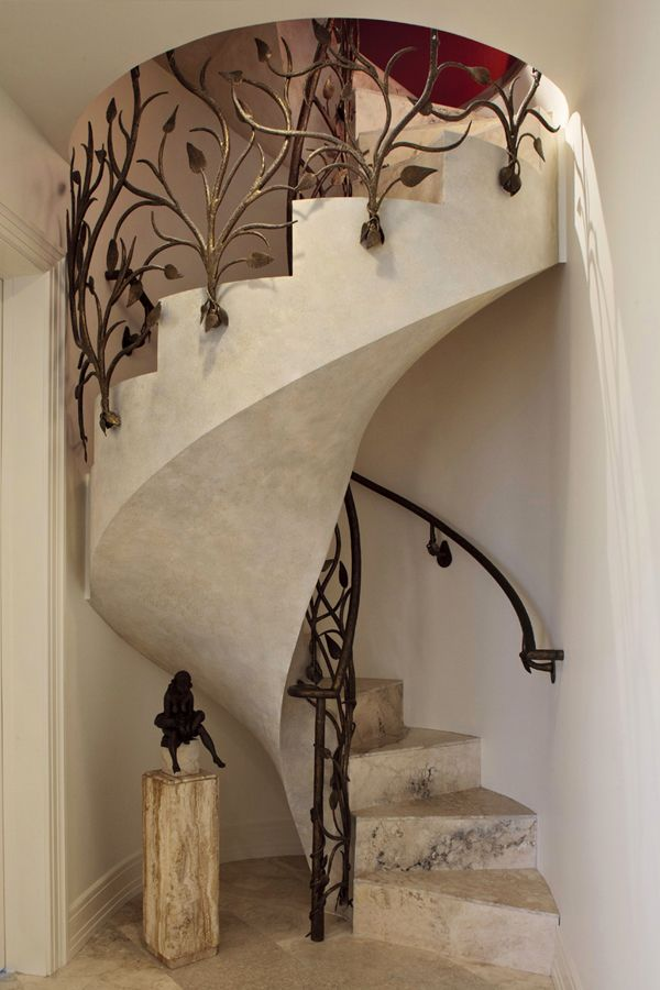 In my next life I will design my home around this Gorgeous Staircase - LOVE!