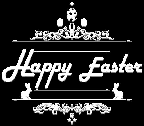 Happy Easter Text Png Clip Art Image Art Images Clip Art Art