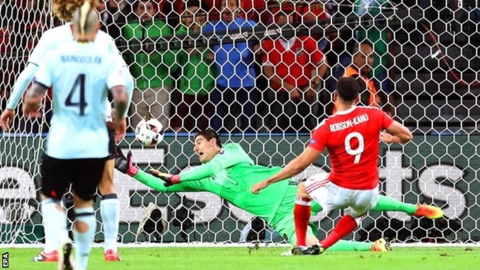 Wales 31 Belgium Euro 2016, International football