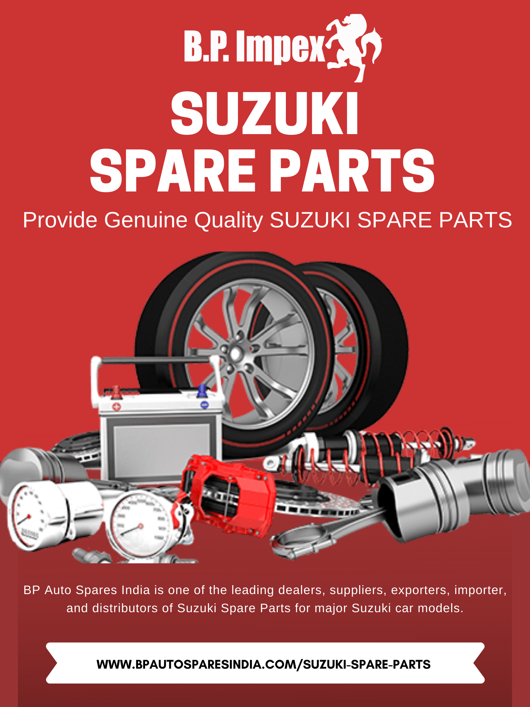 Genuine Quality Suzuki Spare Parts Spare Parts Car Spare Parts Suzuki