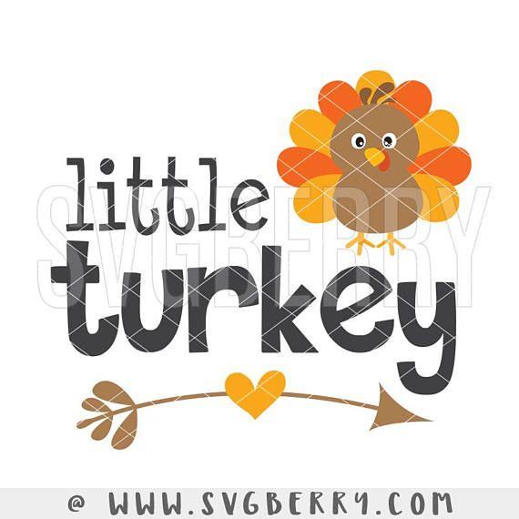 Download #Thanksgiving SVG / #Little #Turkey Big Turkey Clipart ...