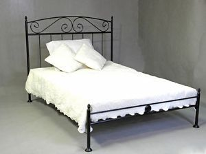 Designer Metallbett 160x200 Mit Romantischem Touch In Schwarz Inkl Lattenrost Furniture Bed Home Decor