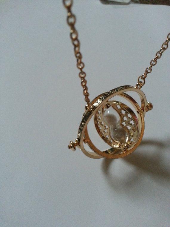 Harry Potter Hermione Granger Time Turner Charm Necklace Time Turner Necklace Harry Potter Hermione Harry Potter Hermione Granger