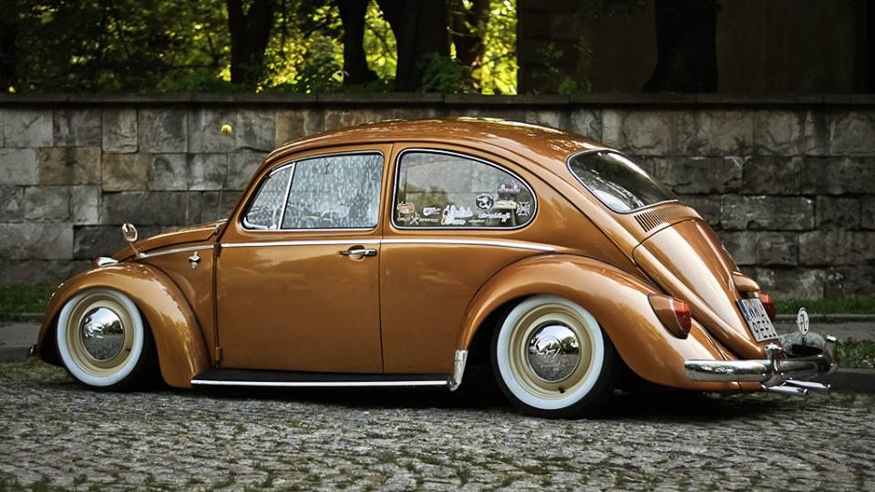Amazing Brown Vw Beetle