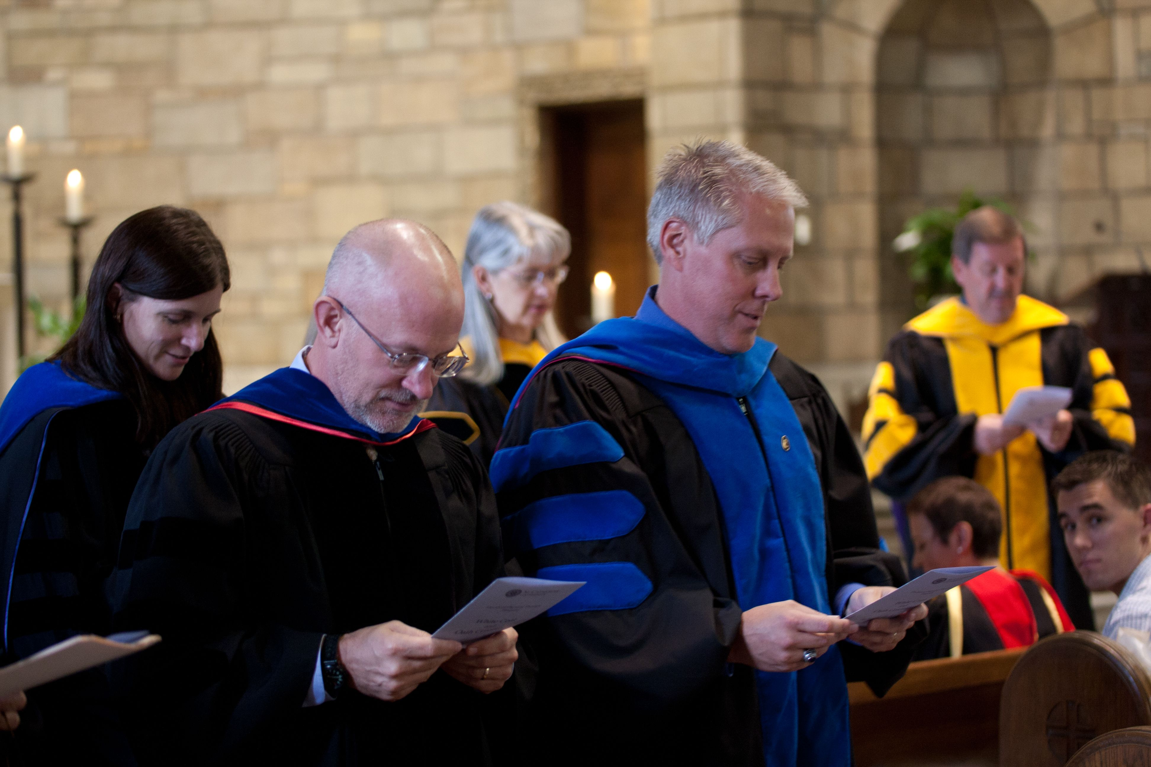 Doctorate of physical therapy program - Students In The Doctor Of Physical Therapy Program Are Celebrated By Faculty And Guests During A