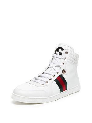 gucci white high tops