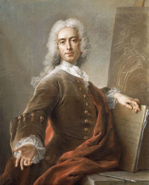 Self-portrait, Charles-Antoine Coypel, 1734
