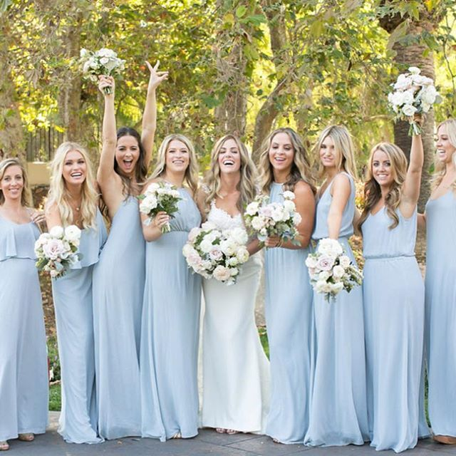 All the ladies lined up in Show Me Your Mumu Steel Blue ...