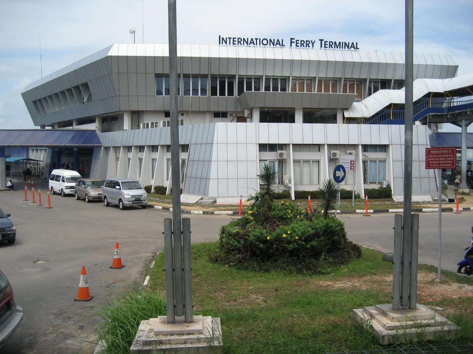 Batam Center International Ferry Terminal. Batam