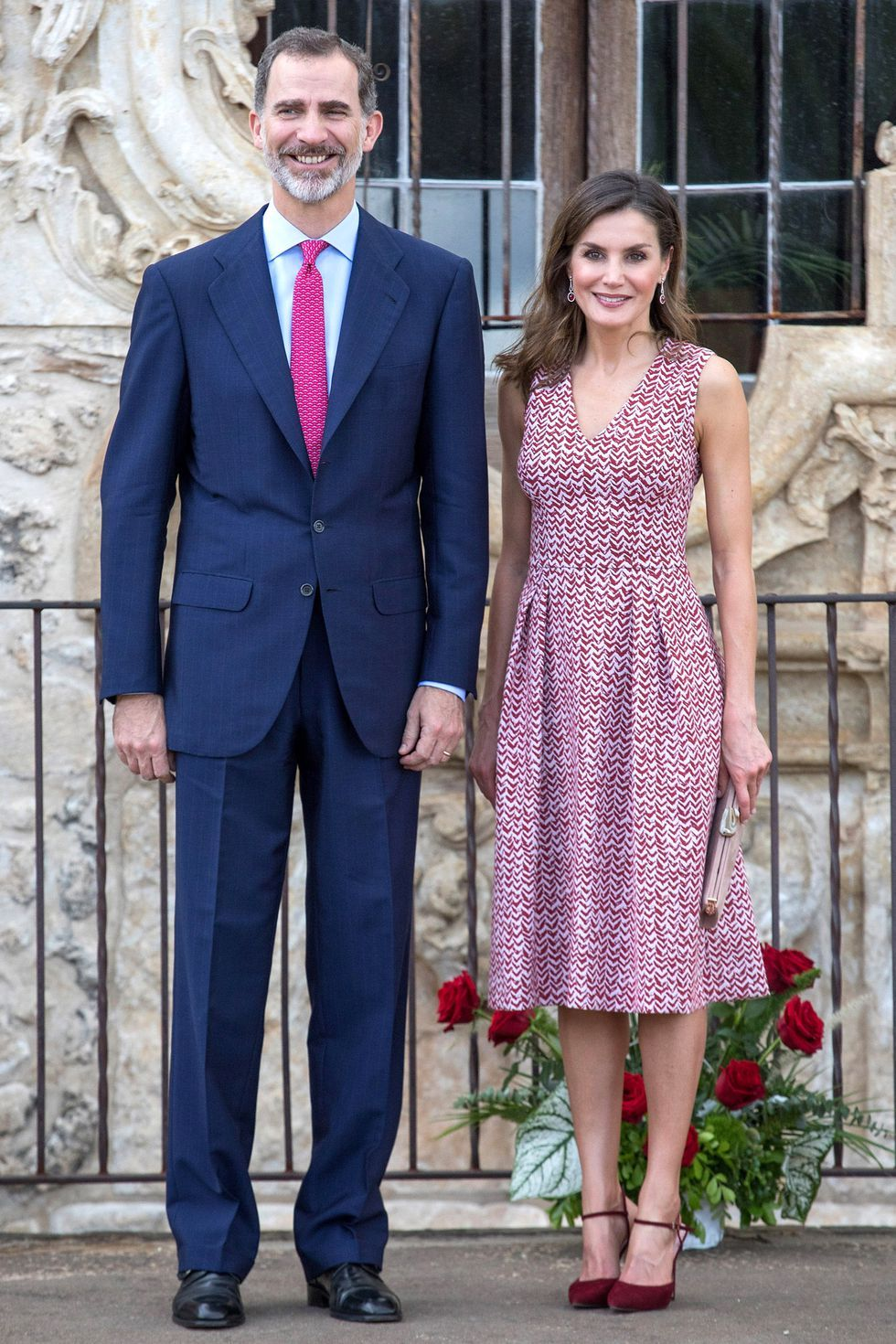Queen Letizia's Arrived In Style to the White House