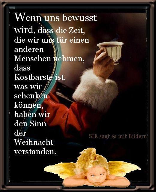 Pin Von Karin Auf Adventskalender Weihnachten Spruch Gedicht Weihnachten Weihnachtsspruche
