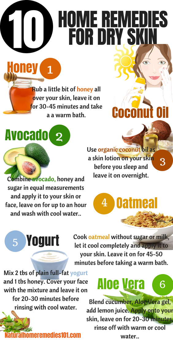 Home remedies for dry skin to help you get smooth and
