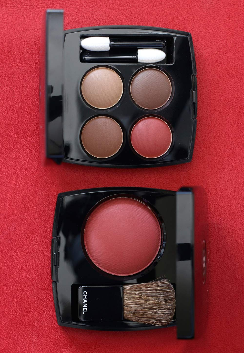 One Word RED! Chanel Le Rouge Collection No. 1 Makeup