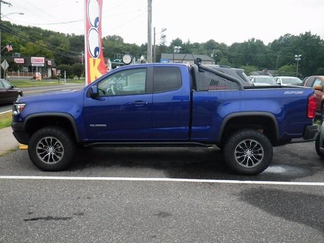 New Laser Blue Metallic 2017 Chevrolet Colorado Extended Cab Long Box 4 Wheel Drive Zr2 For Sale Near Bristol Ct Chevy Colorado Chevrolet Colorado Chevrolet