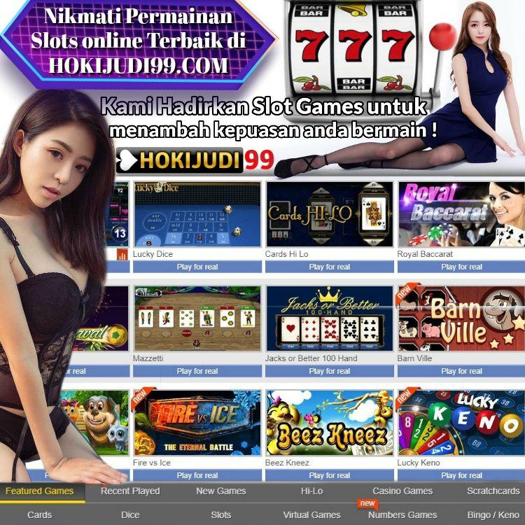 Nikmati Permainan Slots online Terbaik di