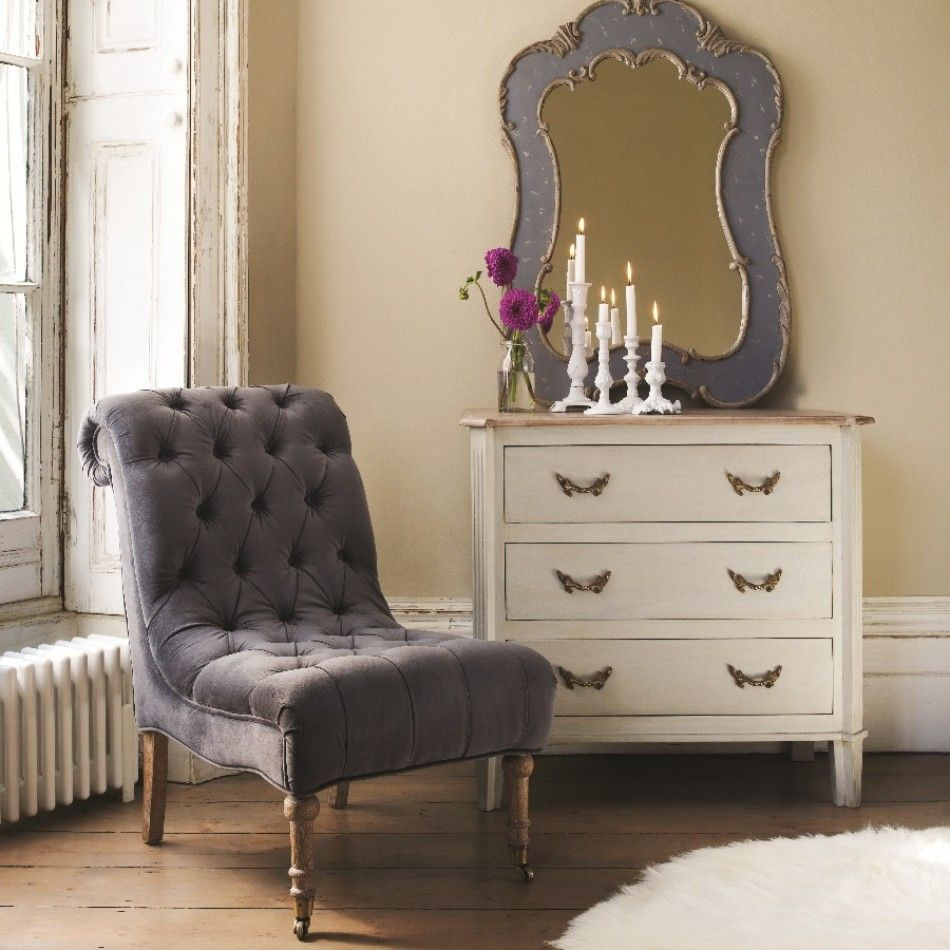 Zelda Nursing Chair In Grey Velvet Chairs Stools Furniture