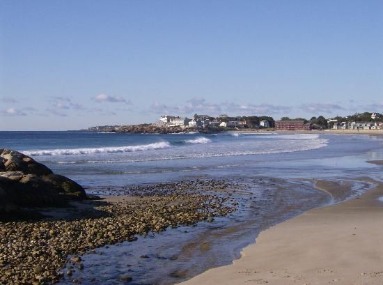 The creek at the rockport end of long beach looking back for Cape ann motor inn gloucester ma