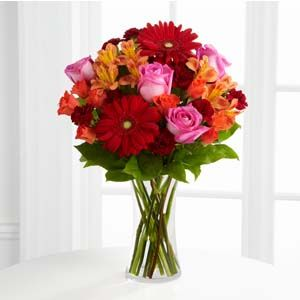 The Ftd Dawning Love Bouquet Kroger Cincinnati Oh 45202 Delivering Fres Red Bouquet Wedding Amazing Flowers Flower Delivery