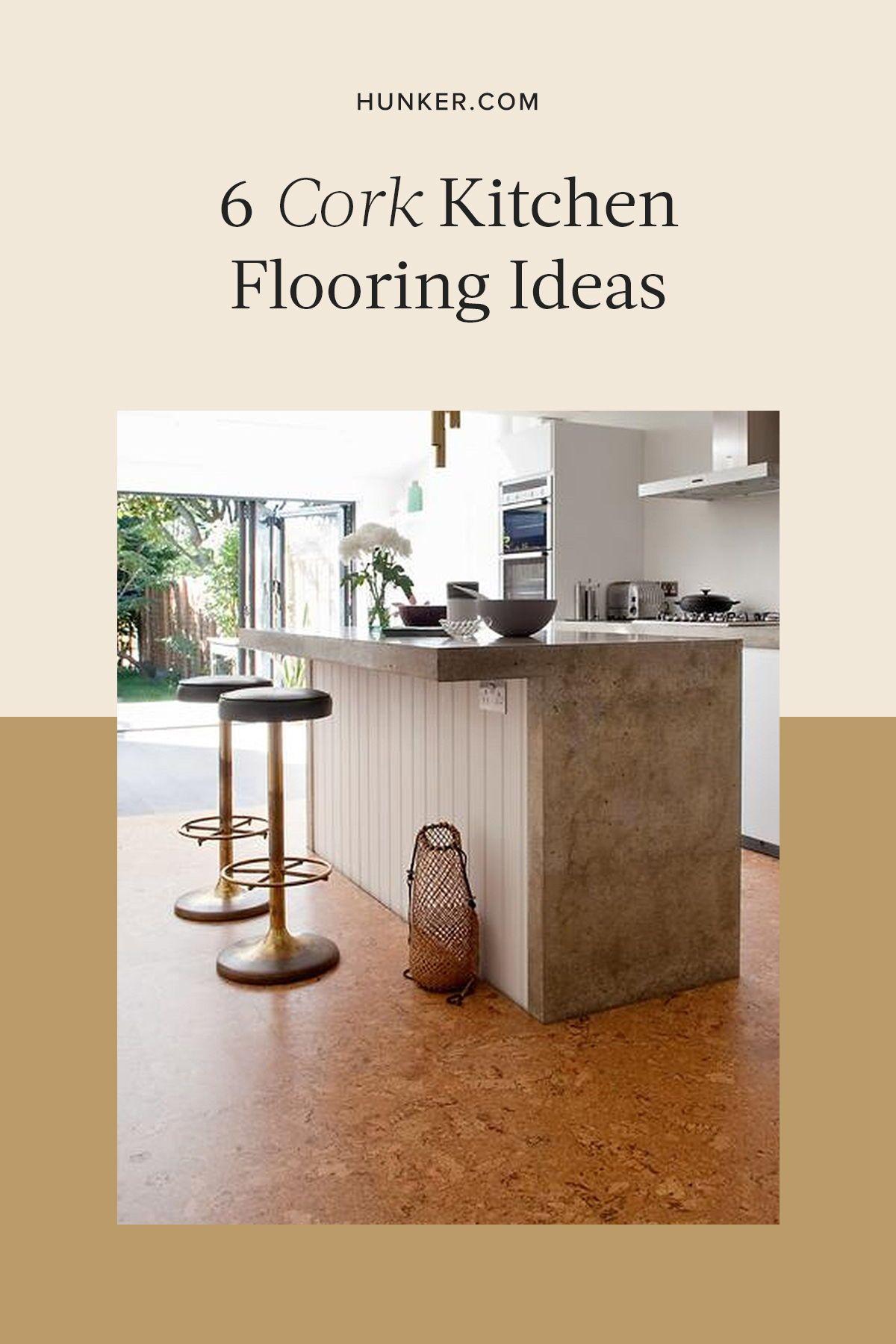 Cork Kitchen Flooring Ideas in 2020 Cork flooring