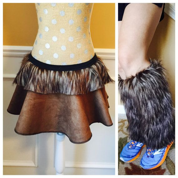 Brown chewy Outer space Inspired Running skirt  Perfect for