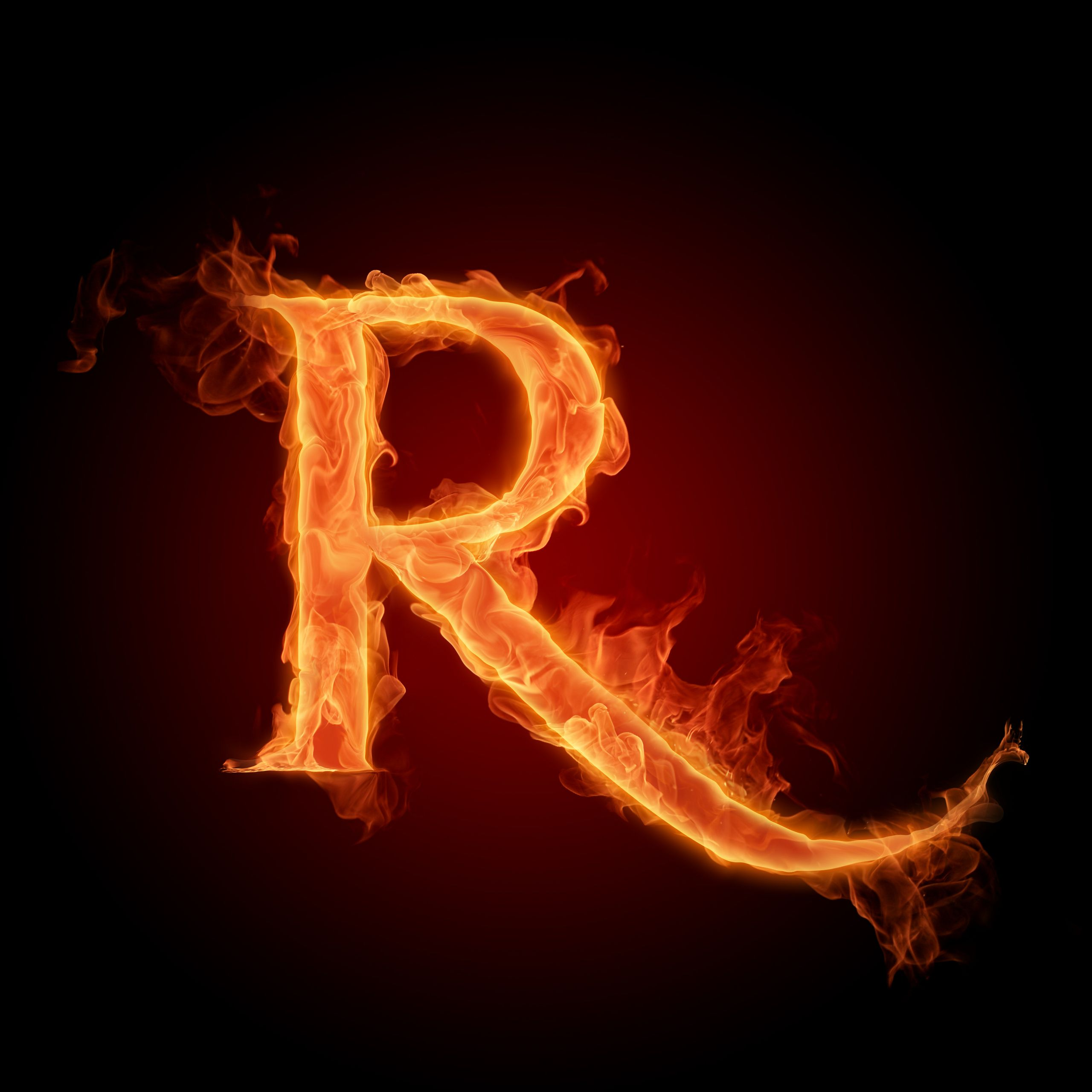 The Alphabet Photo: The letter R