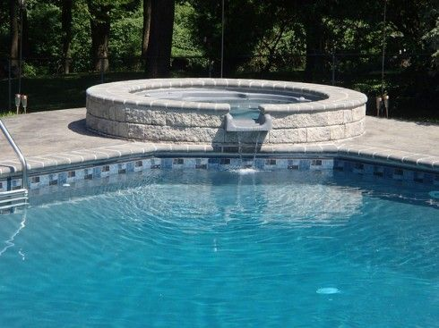 Courtstone Natural Grey Liner Vinyl Pools Pool Liners