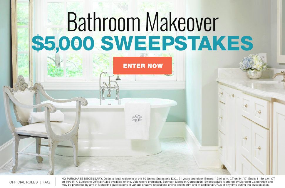 Bathroom Makeover $5,000 Sweepstakes (With images ...