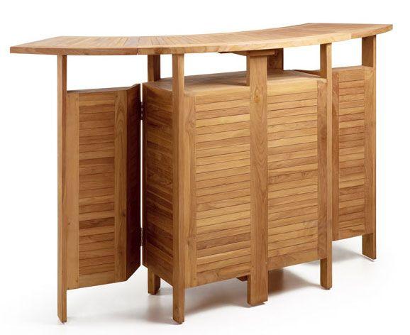 Mueble Bar Teka Plegable Alas http://www.artesaniadecoracion.com/tienda/Mueble-Bar-Teka-Plegable-Alas.html