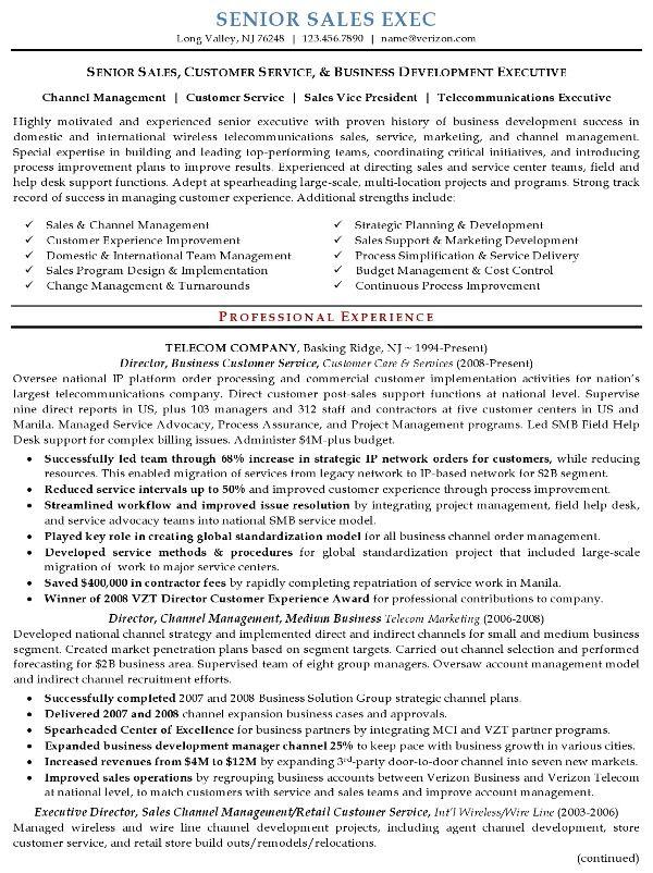Resume Examples Executive Sales Resume Executive Resume Marketing Resume