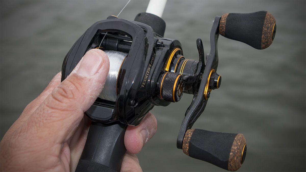 Thumbing To Keep The Overspin Of The Spool Under Control Is The Key To Distance And Precision With Baitcasters Binoculars Fishing Reels Tips