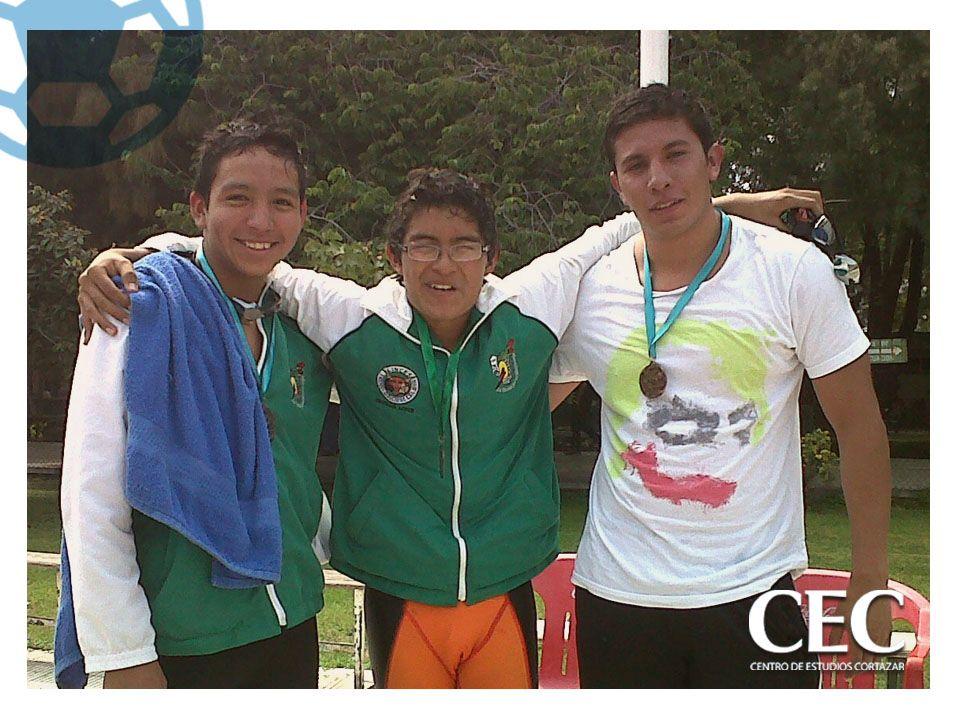El alumno Francisco Salina Medina de Universidad logra 3 terceros lugares en la competencia de natación en el Tecnológico de Celaya, Gto. Y obtiene el 4to lugar por equipo.