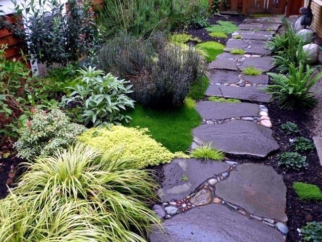 15 Jardin Impressionnant Avec Des Pierres Et Des Rochers Marches Jardin Decoration Jardin Deco Jardin