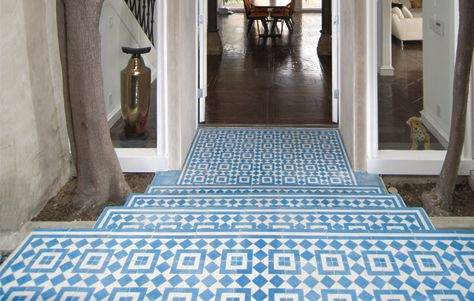 The Echo Collection Of Cement Tiles By Granada Tile