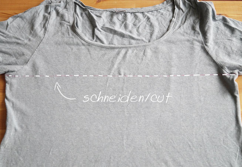 Garn aus alten T-Shirts herstellen http://nur-noch.blogspot.de/2014/09/t-shirt-garn-schneiden-cut-t-shirt-yarn.html